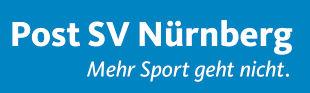 Logo Schriftzug Post SV Nürnberg e.V. - Die Nummer 1 im Sport